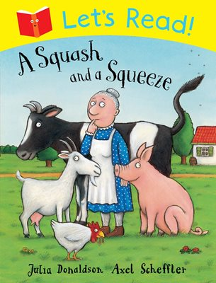 Book cover for Let's Read! A Squash and a Squeeze